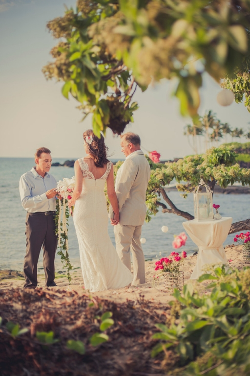 Kukio Beach Wedding Hawaii Planner