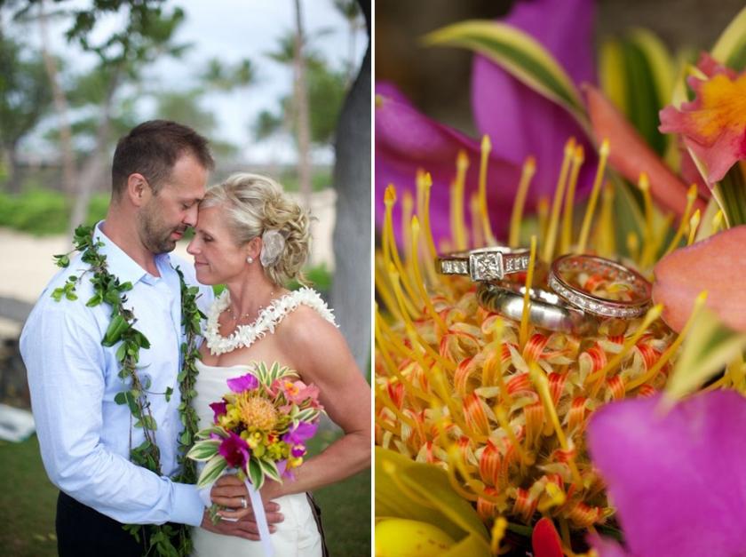 Simple Hawaii Beach Wedding For Two