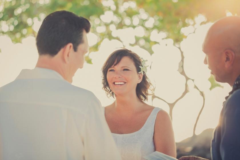 Kikaua Wedding © Karen Loudon Photography