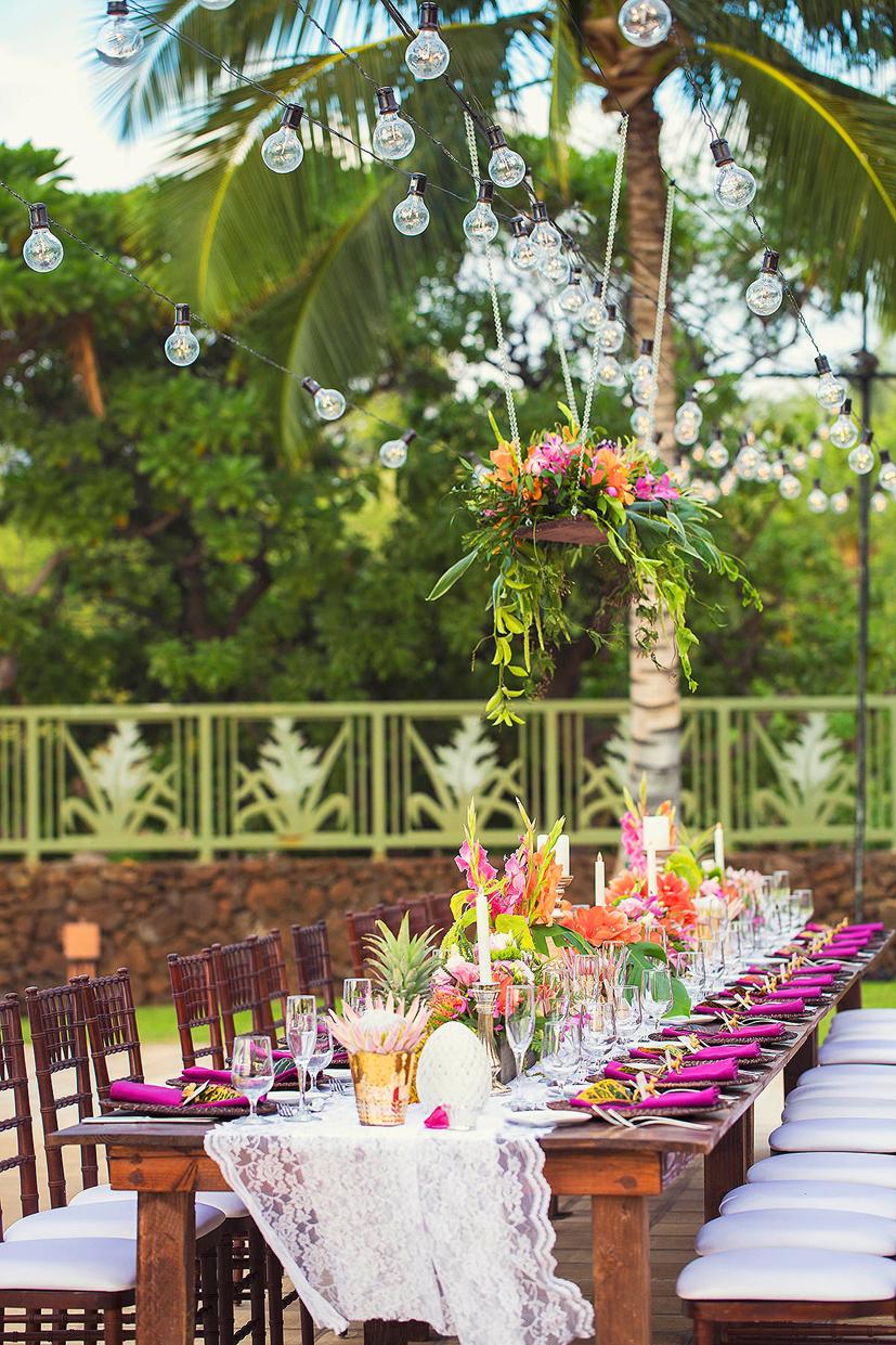 Honualai A Sullivan Estate Wedding Big Island Wedding Kona Hawaii Weddings