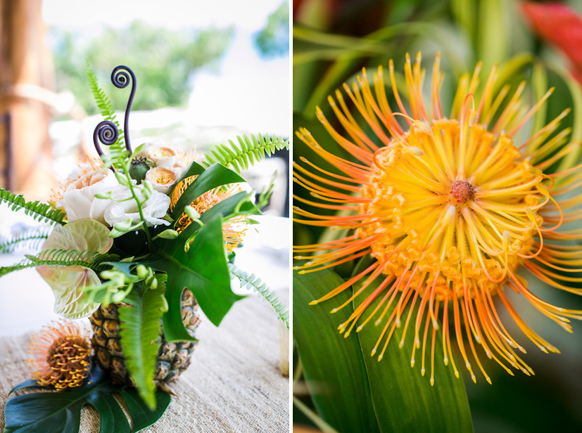 kona beach house wedding