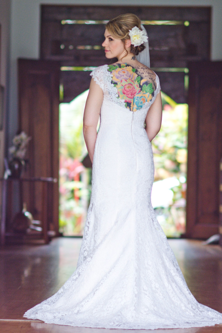 vintage and lace wedding