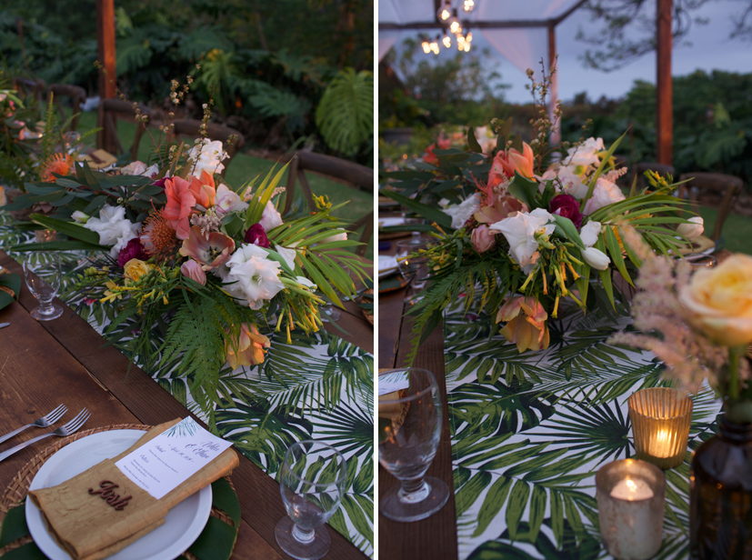 Plantation estate oahu wedding